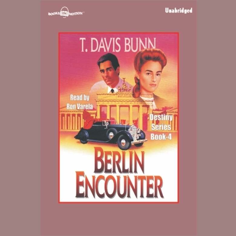 Printable Berlin Encounter Audiobook Cover Art