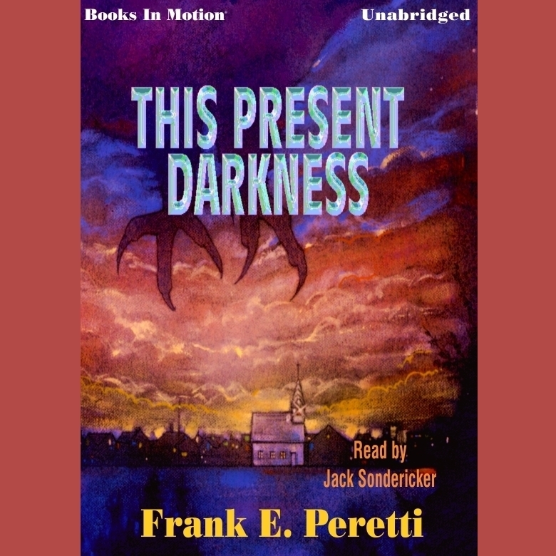 Printable This Present Darkness Audiobook Cover Art