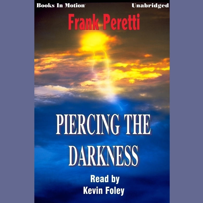 Printable Piercing the Darkness Audiobook Cover Art