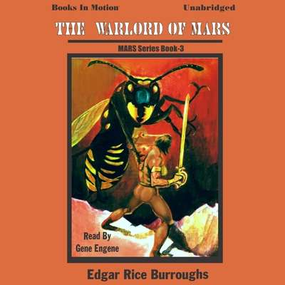 The Warlord of Mars Audiobook, by Edgar Rice Burroughs