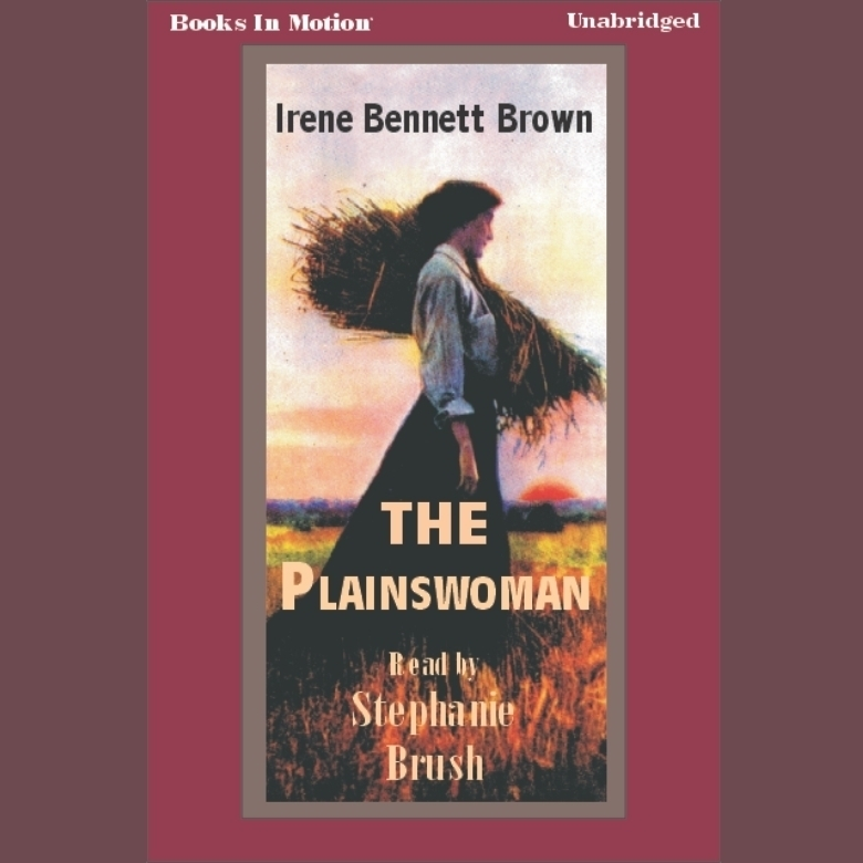 Printable The Plainswoman Audiobook Cover Art
