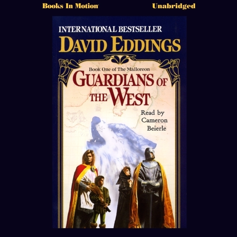 Printable Guardians of the West Audiobook Cover Art