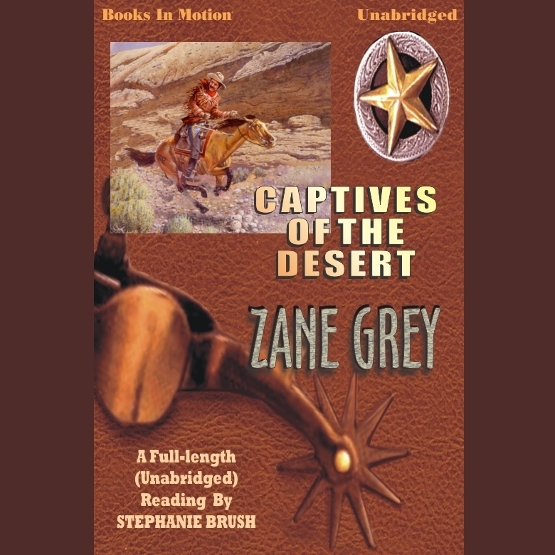 Printable Captives of the Desert Audiobook Cover Art