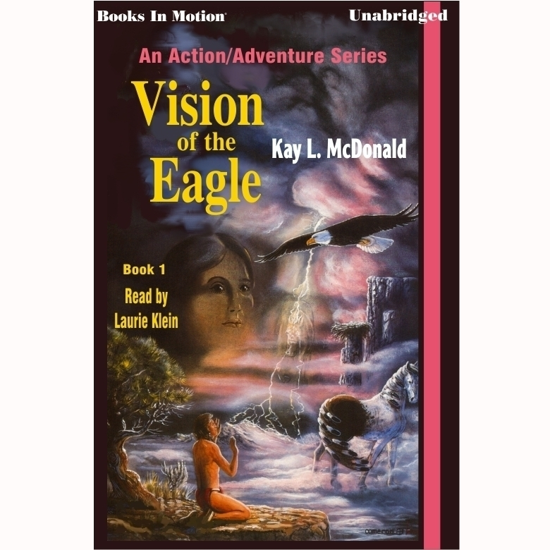 Printable Vision of the Eagle Audiobook Cover Art