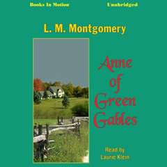 Anne of Green Gables Audiobook, by