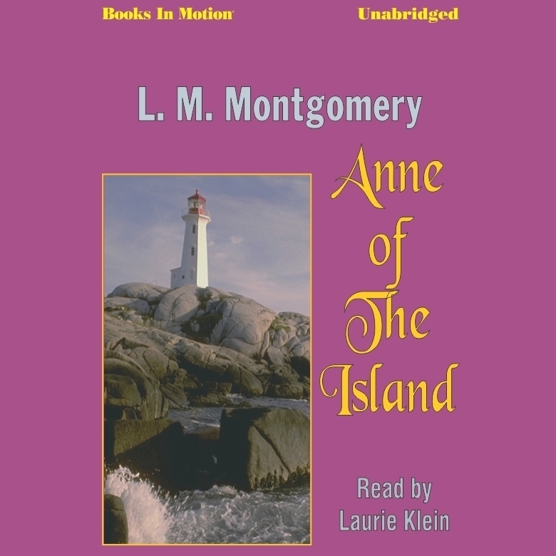 Printable Anne of the Island Audiobook Cover Art