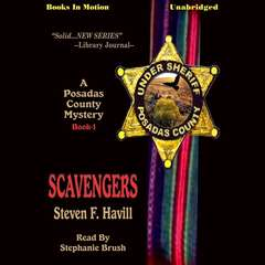 Scavengers Audiobook, by Steven F. Havill