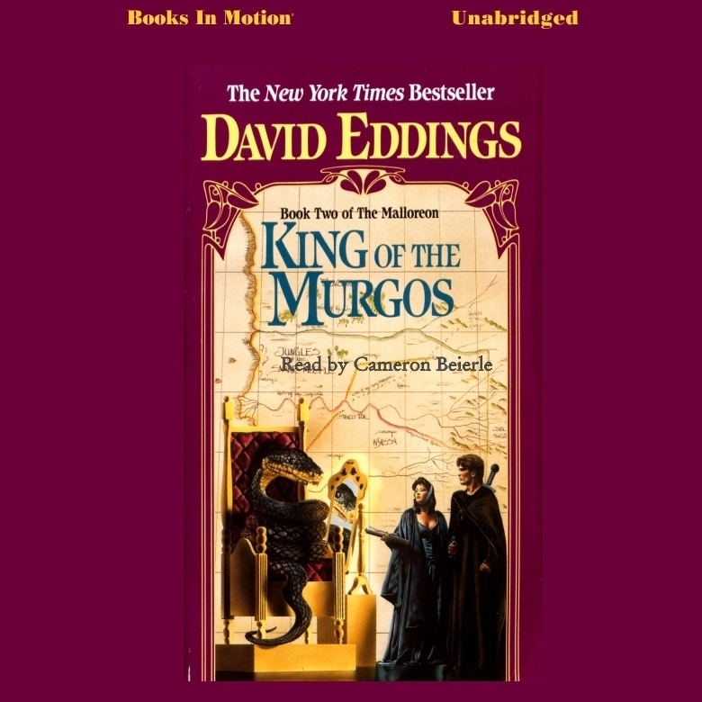 Printable King of the Murgos Audiobook Cover Art