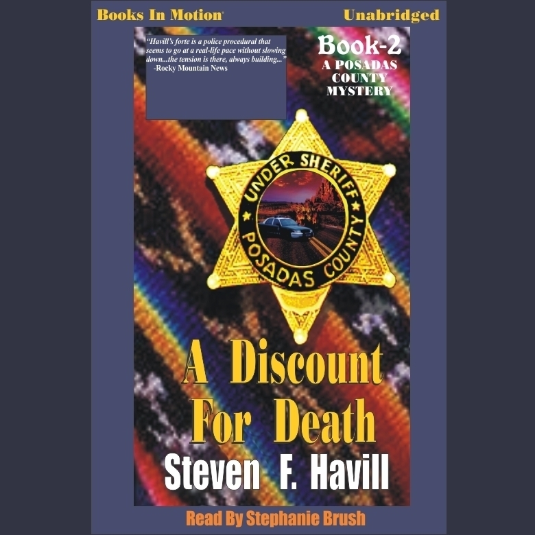 Printable A Discount for Death Audiobook Cover Art