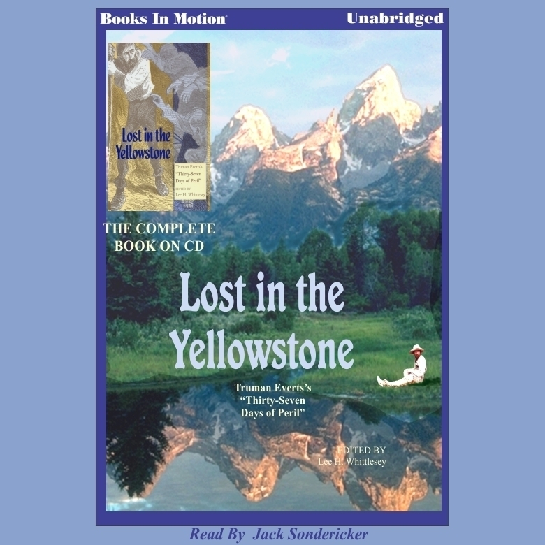 Printable Lost in the Yellowstone Audiobook Cover Art