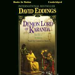 Demon Lord of Karanda Audiobook, by David Eddings