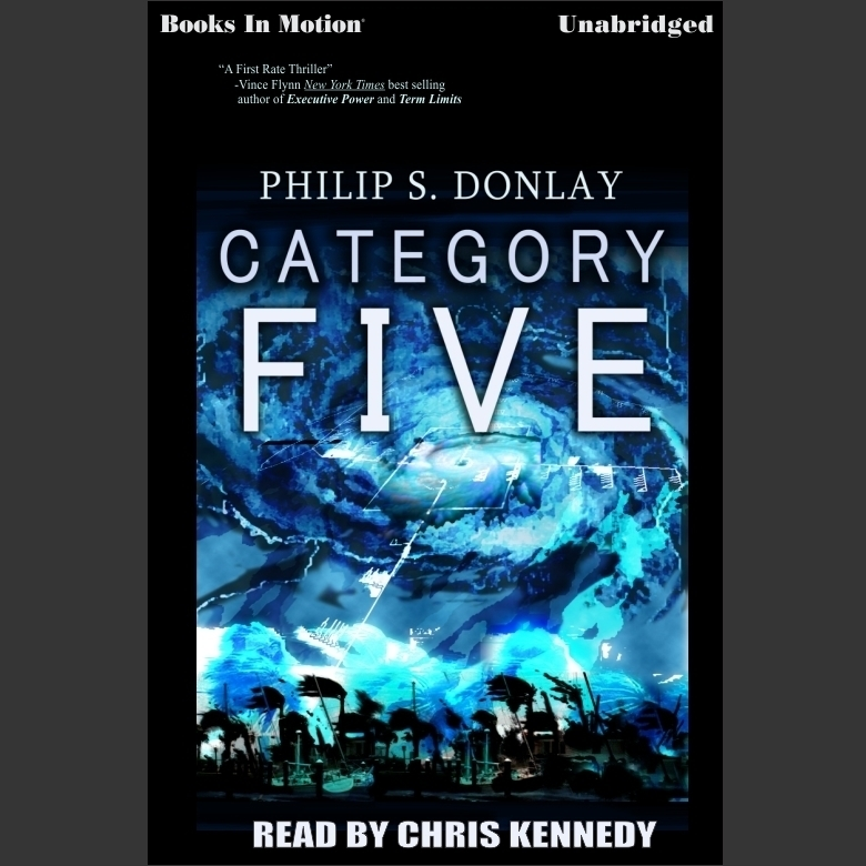 Printable Category Five Audiobook Cover Art