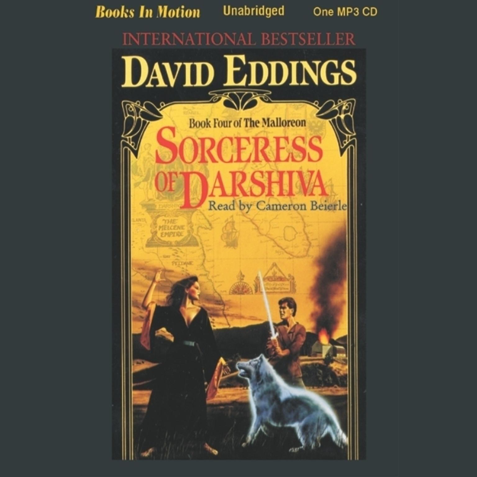 Sorceress of Darshiva Audiobook, by David Eddings