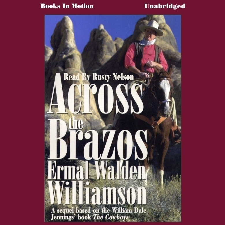 Printable Across the Brazos Audiobook Cover Art