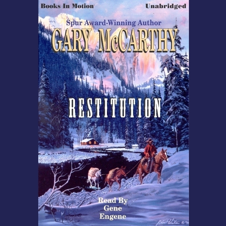 Printable Restitution Audiobook Cover Art