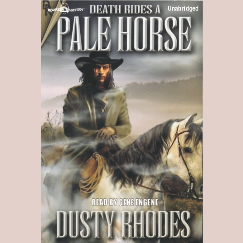 Printable Death Rides a Pale Horse Audiobook Cover Art