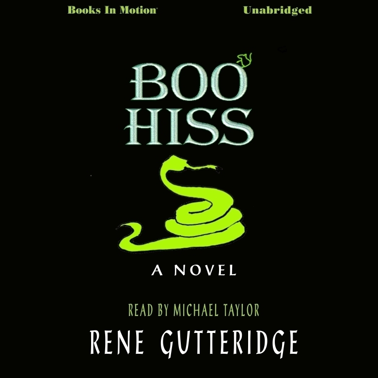 Printable Boo Hiss Audiobook Cover Art