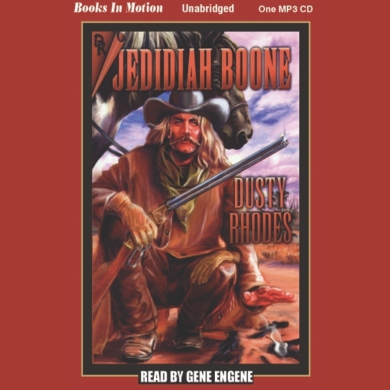 Printable Jedidiah Boone Audiobook Cover Art
