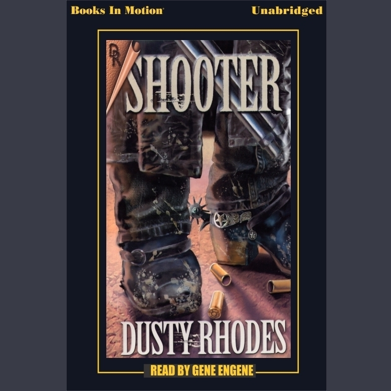 Printable Shooter Audiobook Cover Art