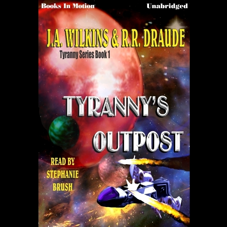 Printable Tyranny's Outpost Audiobook Cover Art