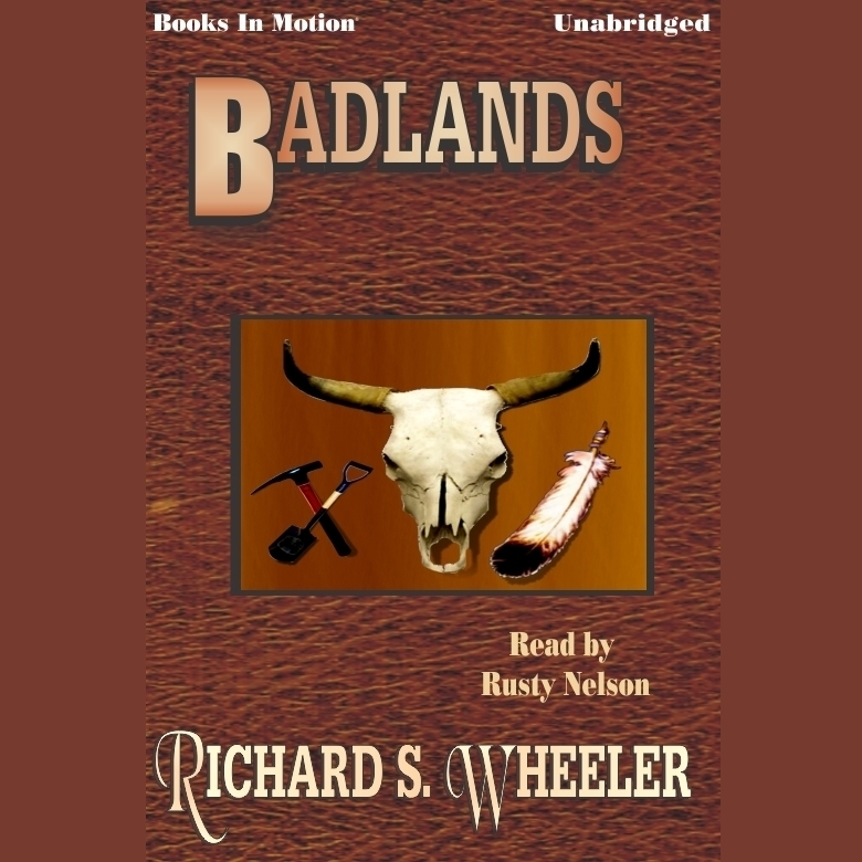 Printable Badlands Audiobook Cover Art