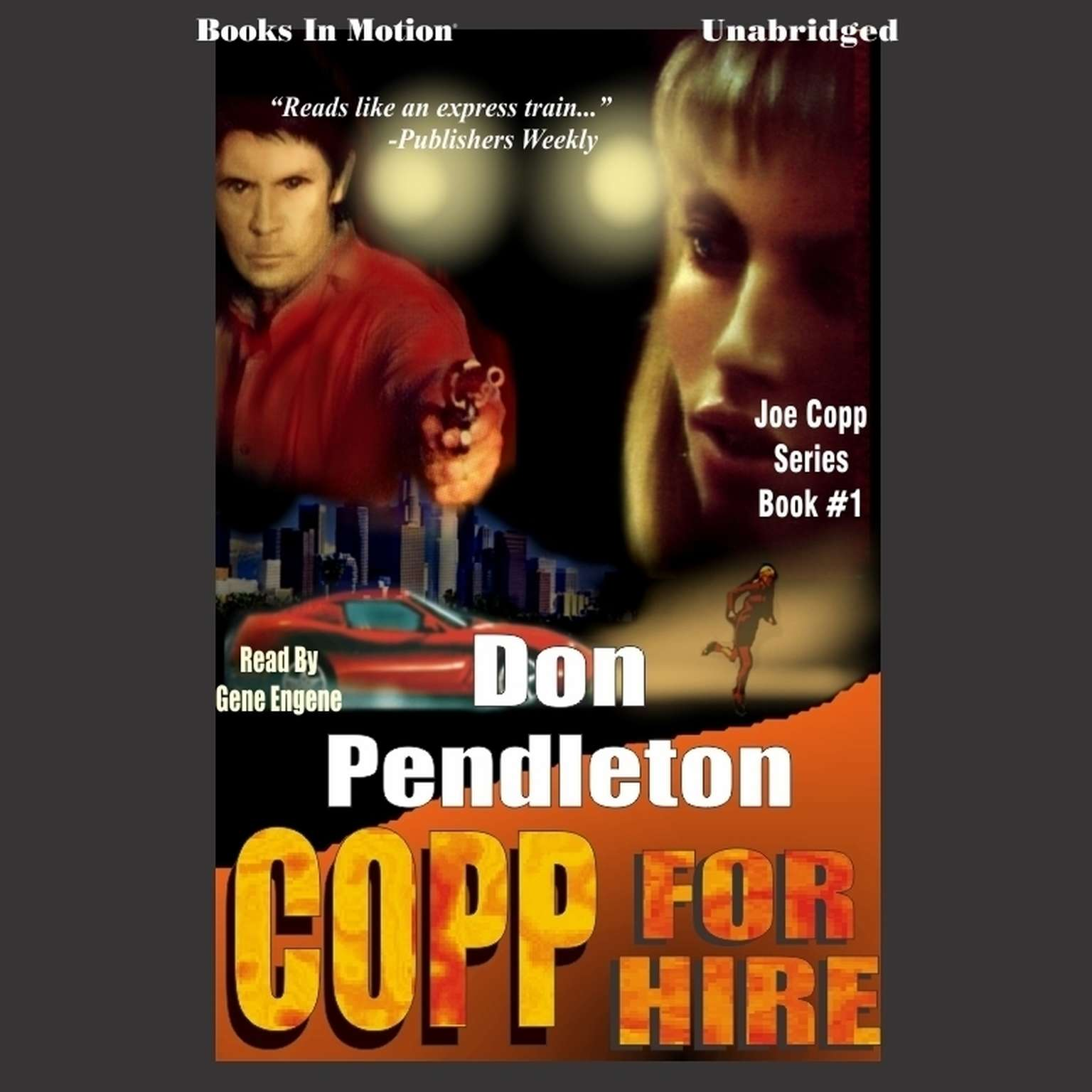 Copp for Hire Audiobook, by Don Pendleton