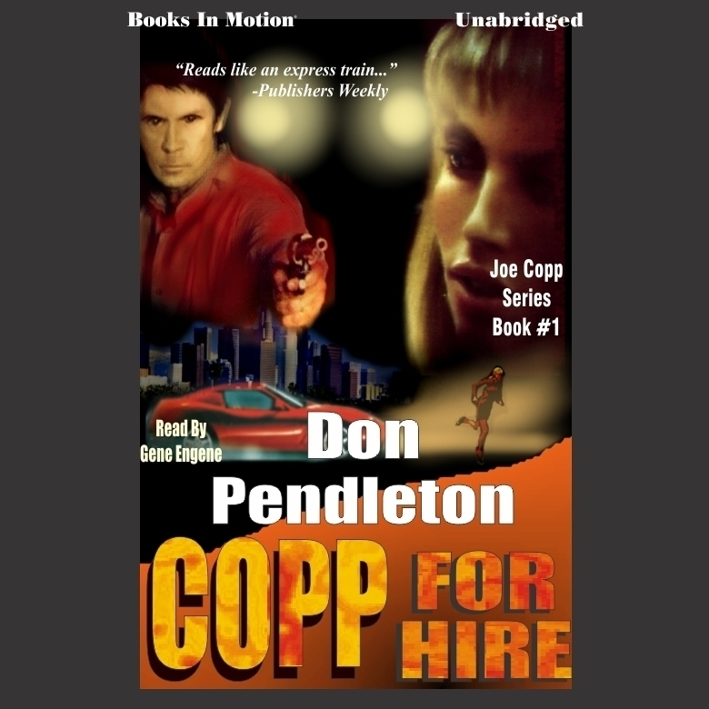 Printable Copp for Hire Audiobook Cover Art
