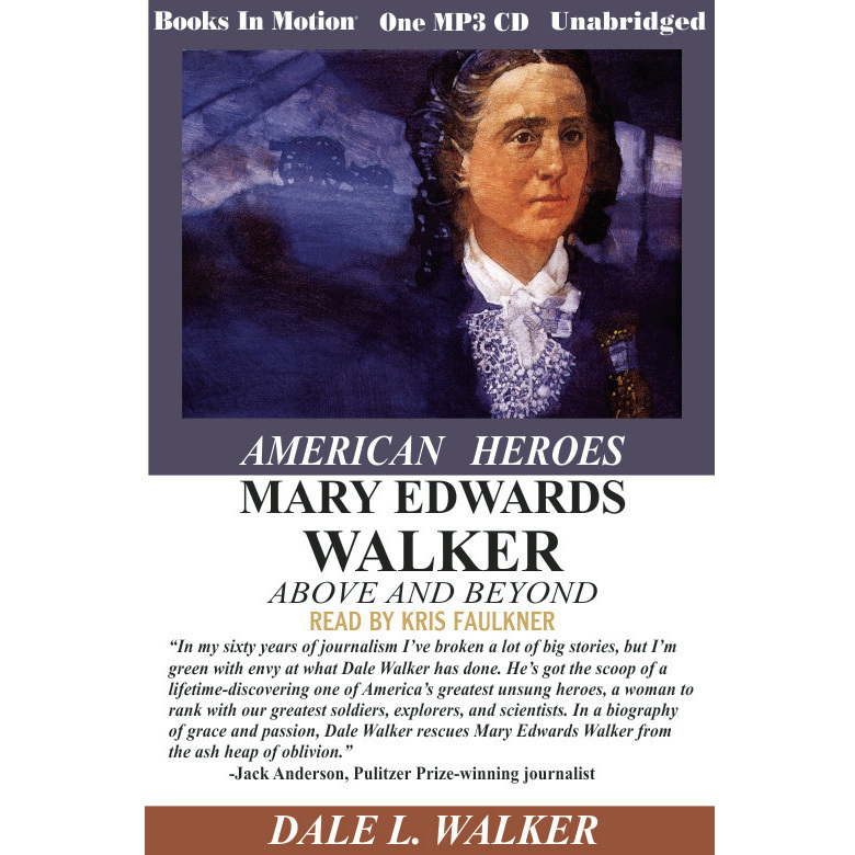 Printable Mary Edwards Walker Above and Beyond Audiobook Cover Art