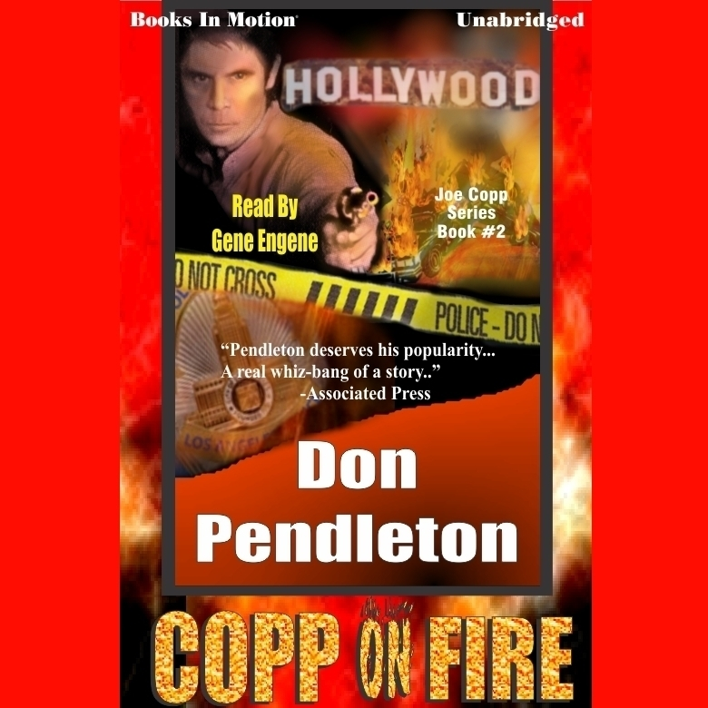 Printable Copp on Fire Audiobook Cover Art