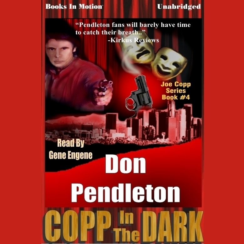 Printable Copp in the Dark Audiobook Cover Art