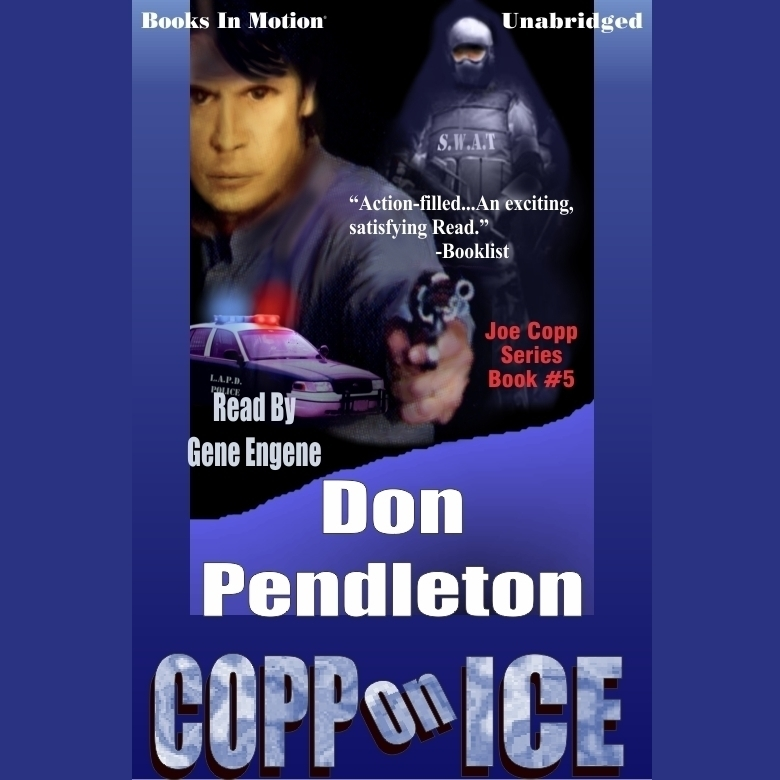 Printable Copp on Ice Audiobook Cover Art