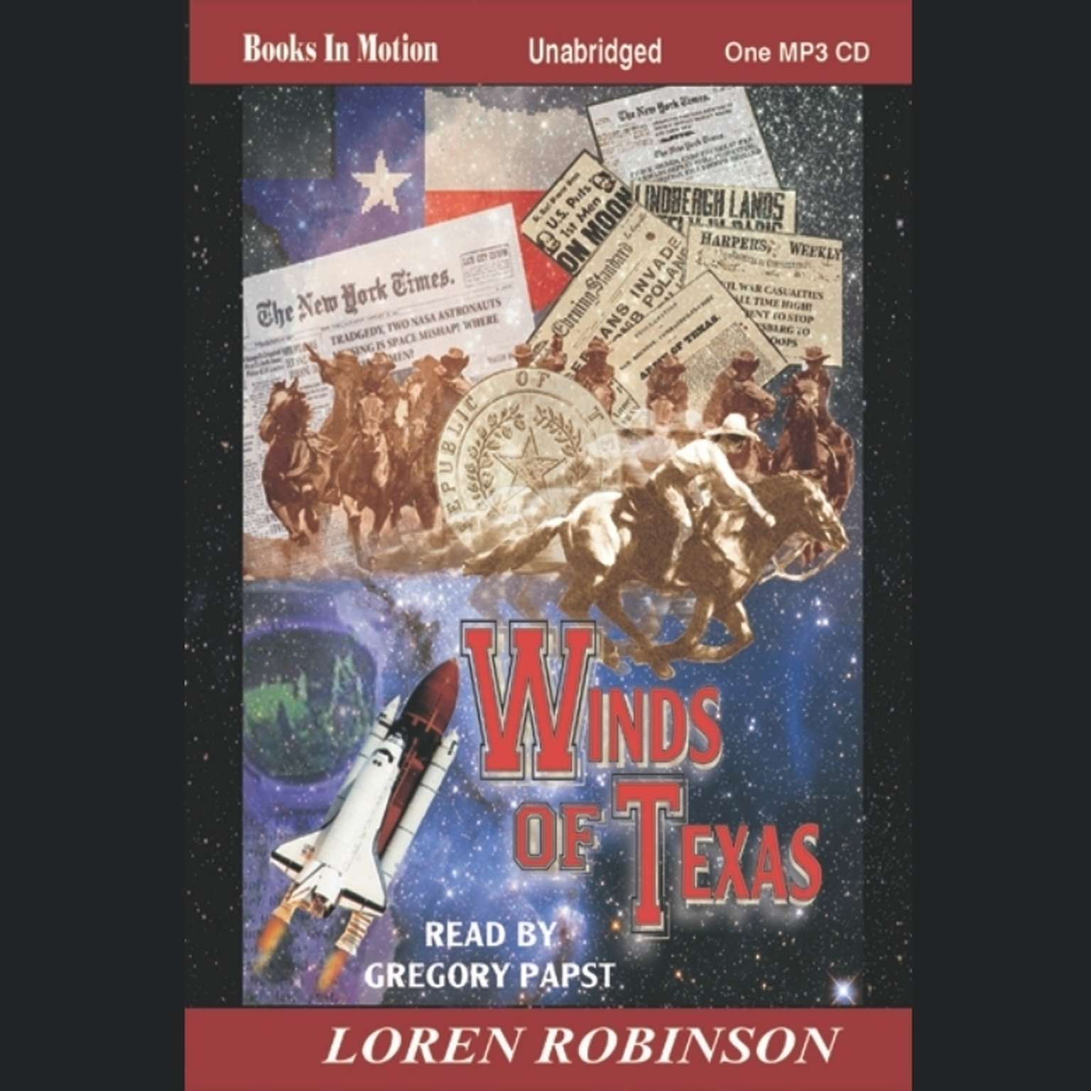 Winds of Texas Audiobook, by Loren Robinson