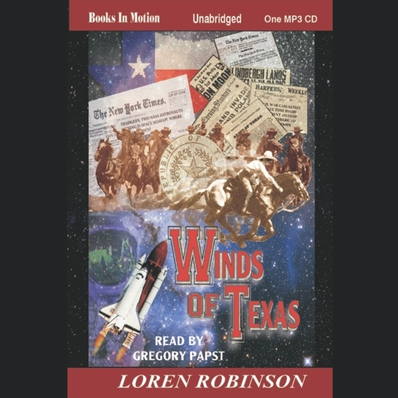 Printable Winds of Texas Audiobook Cover Art