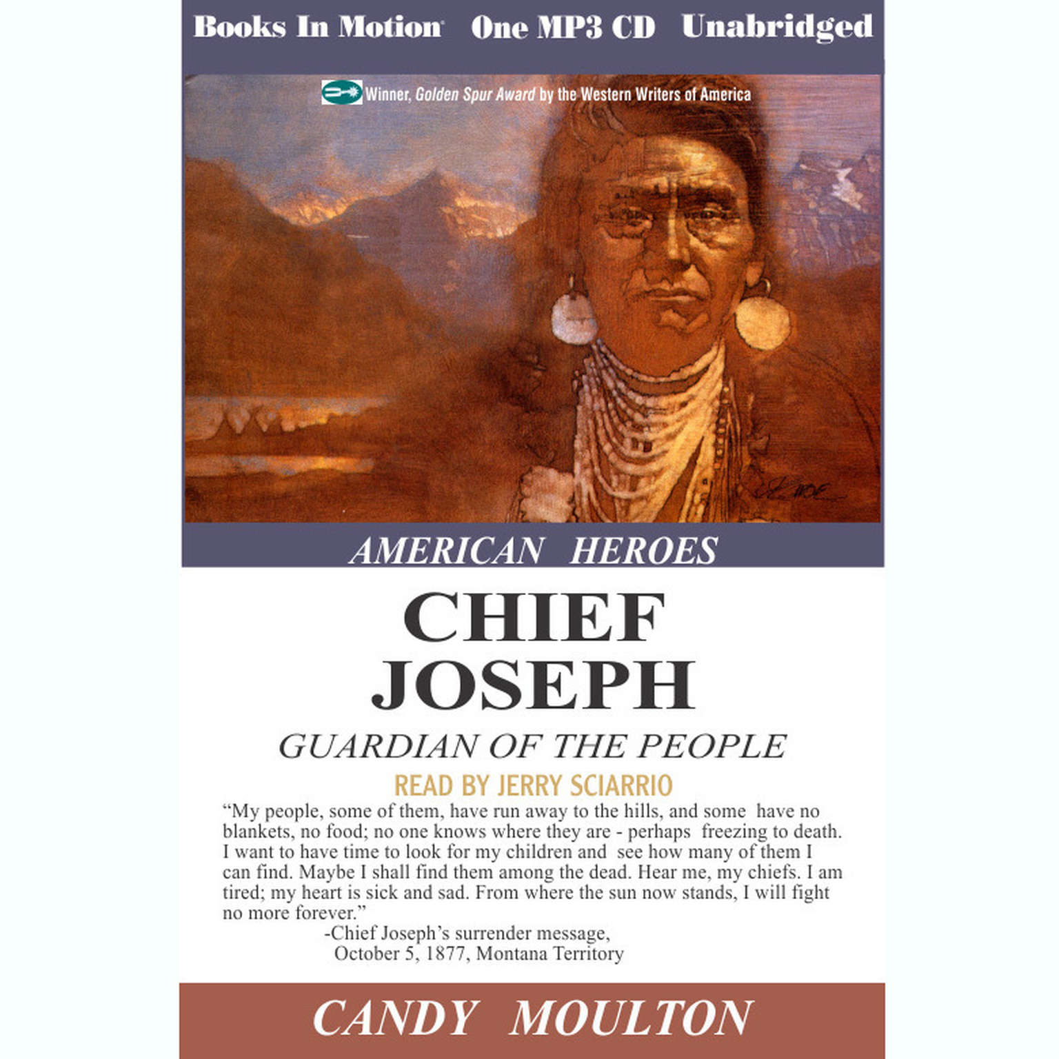 Chief Joseph Audiobook, by Candy Moulton