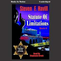 Statute of Limitations Audiobook, by Steven F. Havill