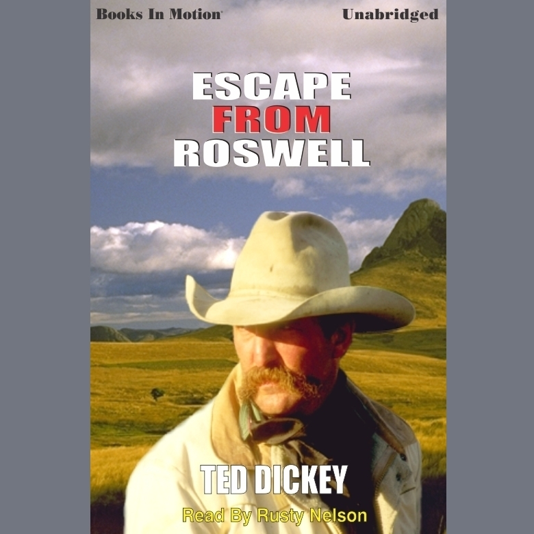 Printable Escape from Roswell Audiobook Cover Art