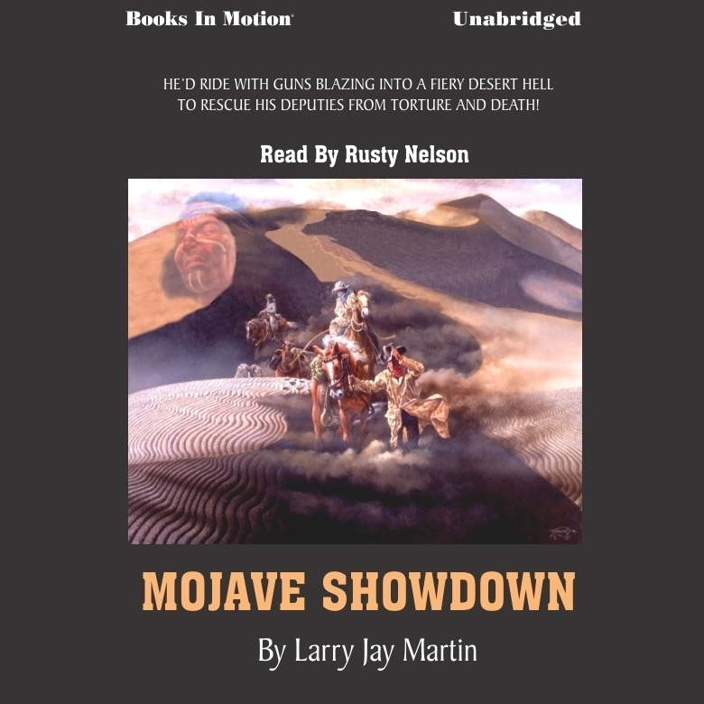 Printable Mojave Showdown Audiobook Cover Art