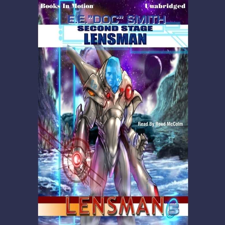 Printable Second Stage Lensman Audiobook Cover Art