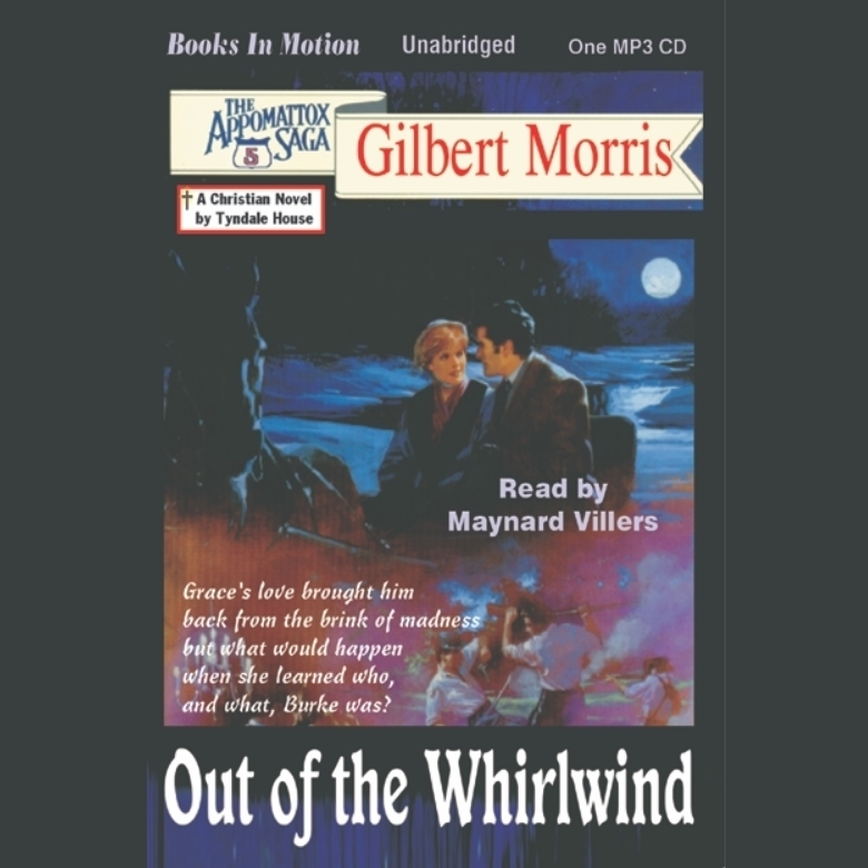 Printable Out of the Whirlwind Audiobook Cover Art