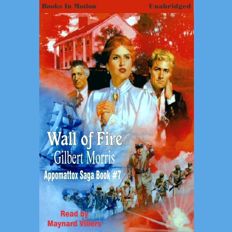 Printable Wall of Fire Audiobook Cover Art