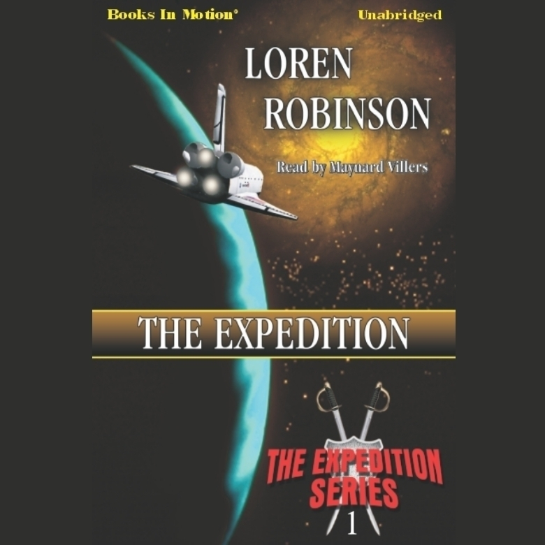 Printable The Expedition Audiobook Cover Art