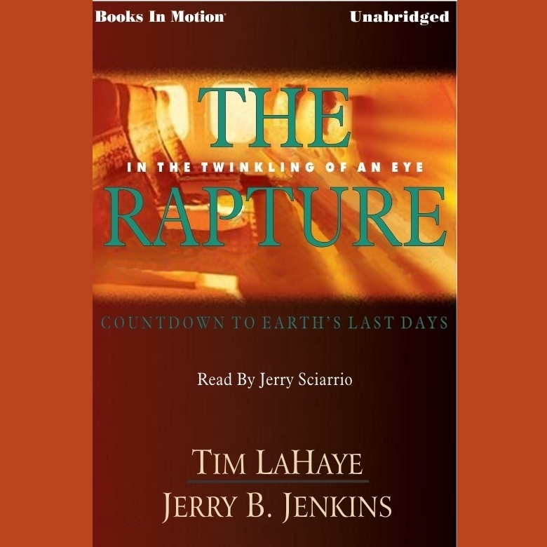 Printable The Rapture Audiobook Cover Art