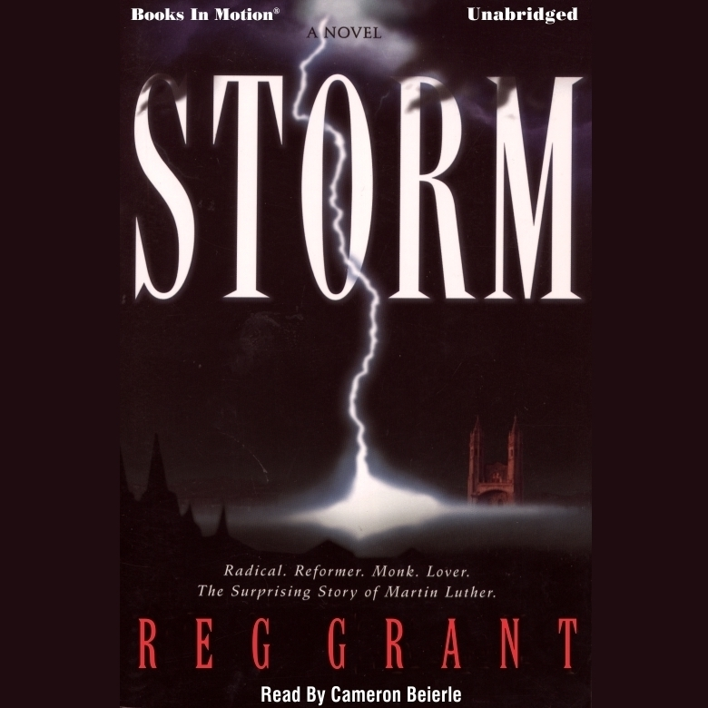 Printable Storm Audiobook Cover Art