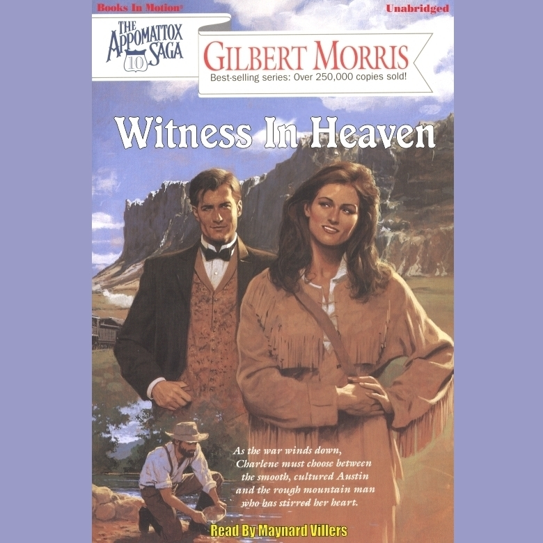 Printable Witness in Heaven Audiobook Cover Art