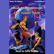The Moon Maid Audiobook, by Edgar Rice Burroughs