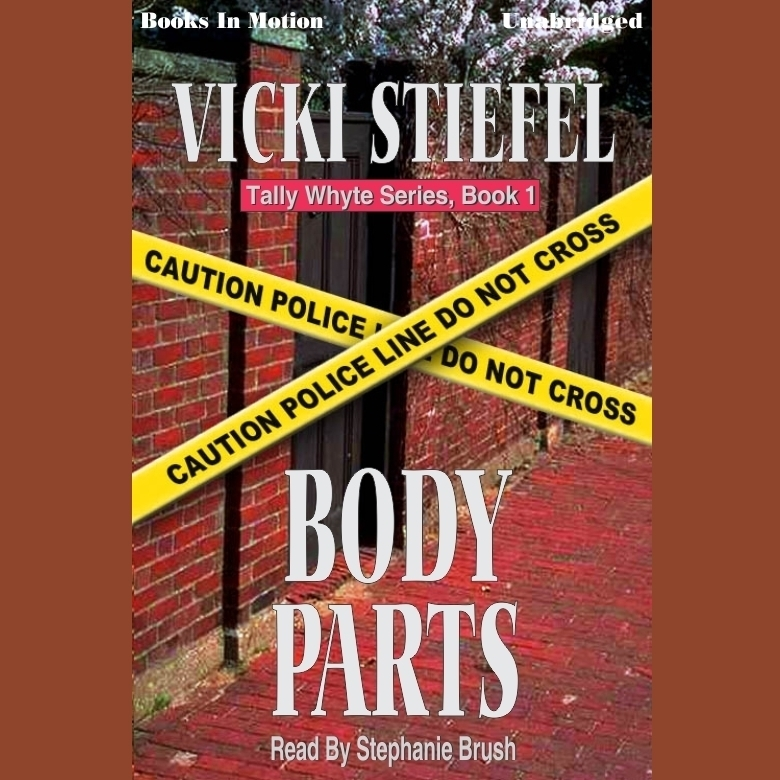 Printable Body Parts Audiobook Cover Art