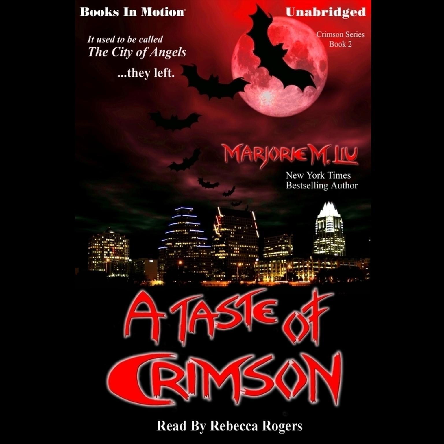 A Taste of Crimson Audiobook, by Marjorie M. Liu