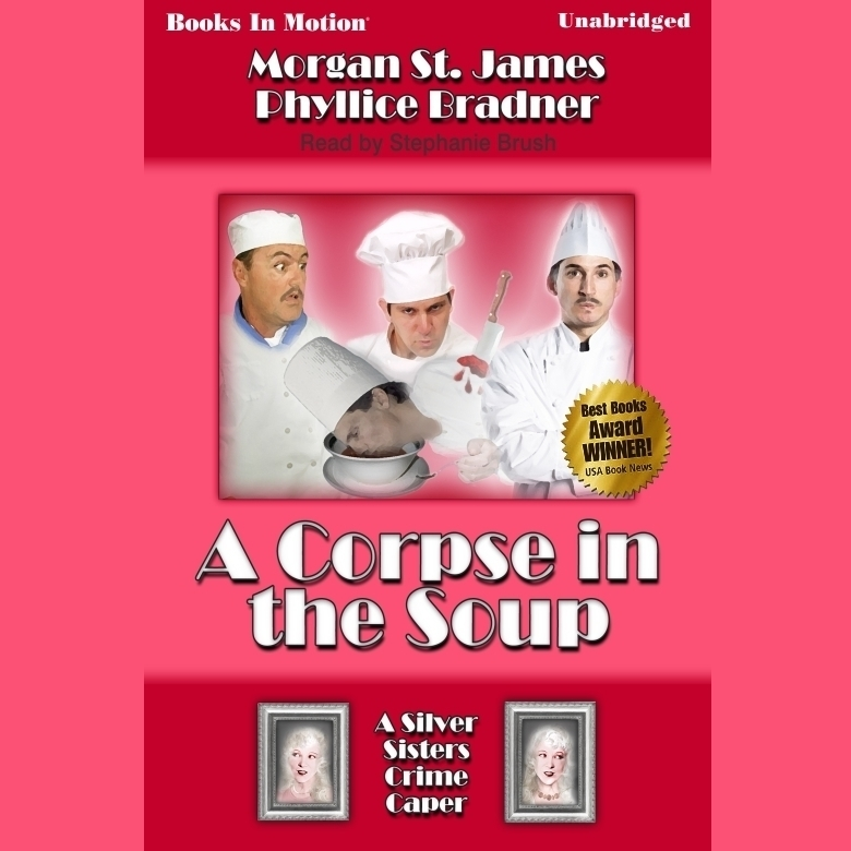 Printable A Corpse in the Soup Audiobook Cover Art