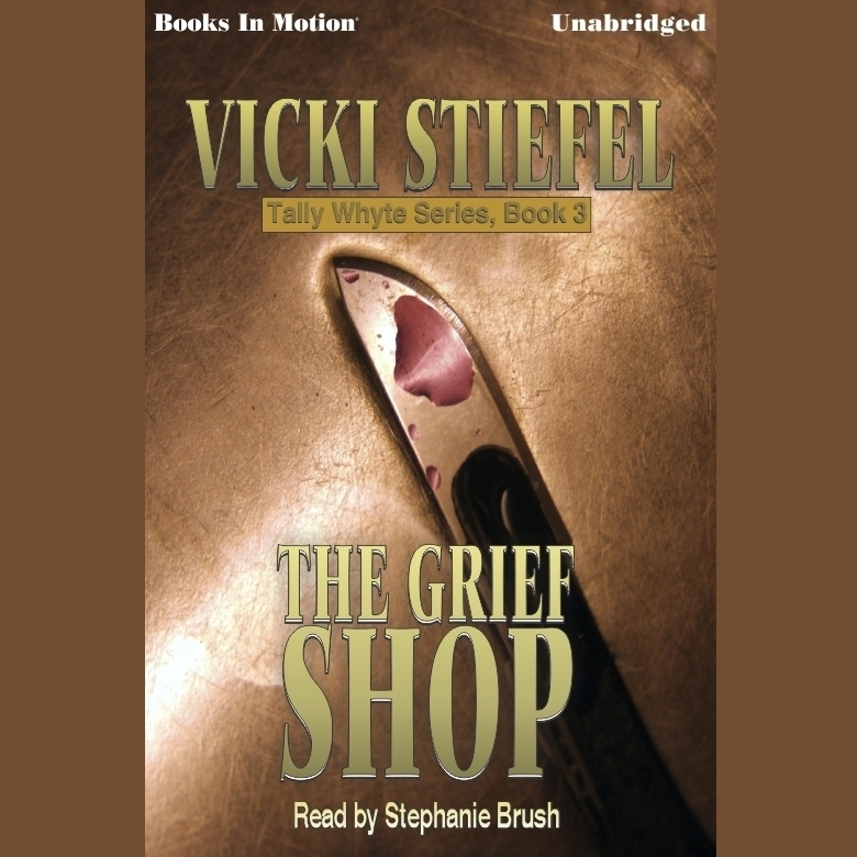 Printable The Grief Shop Audiobook Cover Art