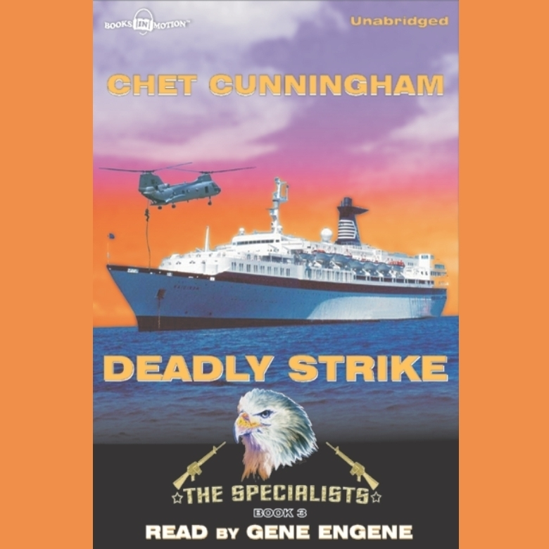 Printable Deadly Strike Audiobook Cover Art